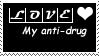 Love, My Anti-Drug stamp by dreamwriter2010