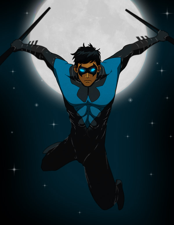 Nightwing: Blue version by michael0118 on DeviantArt