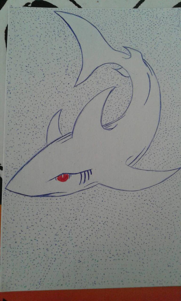 Shark by Reyes-Ricardo