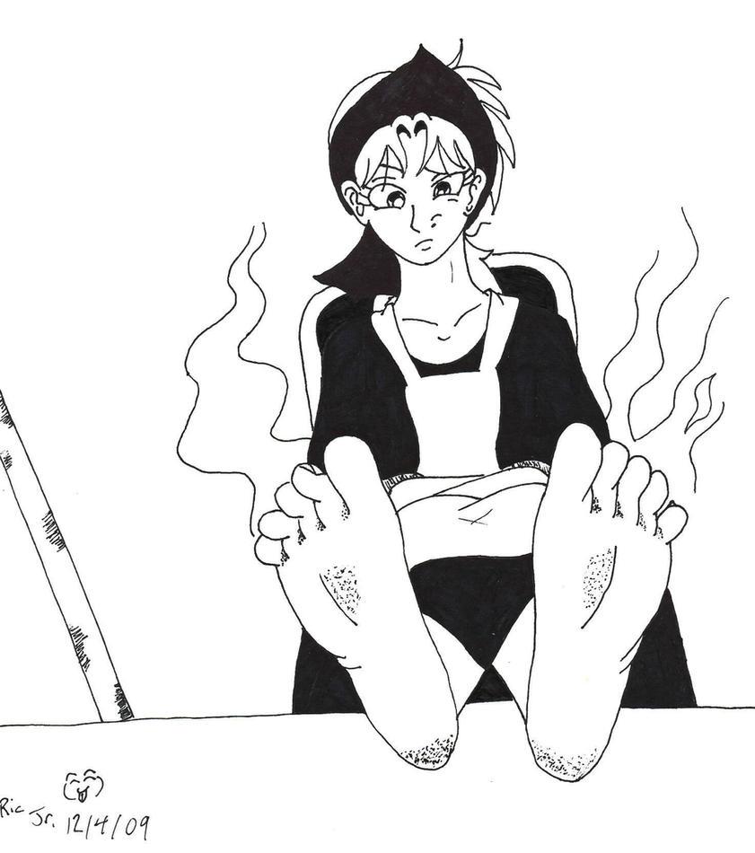 deviantART Stinky Anime Feet