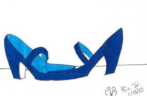 Princess Vivi's Sandals by Dafootclan