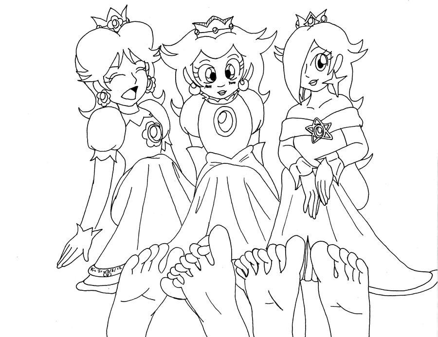 Princesses' Soles Take 2 by Dafootclan