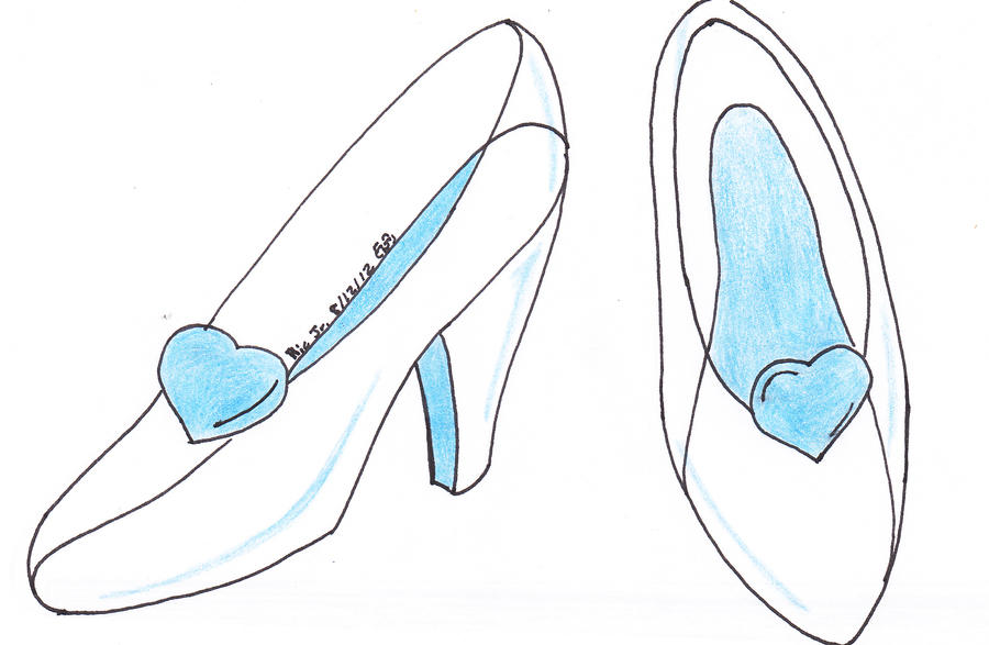 Cinderellas Glass Slippers By Dafootclan