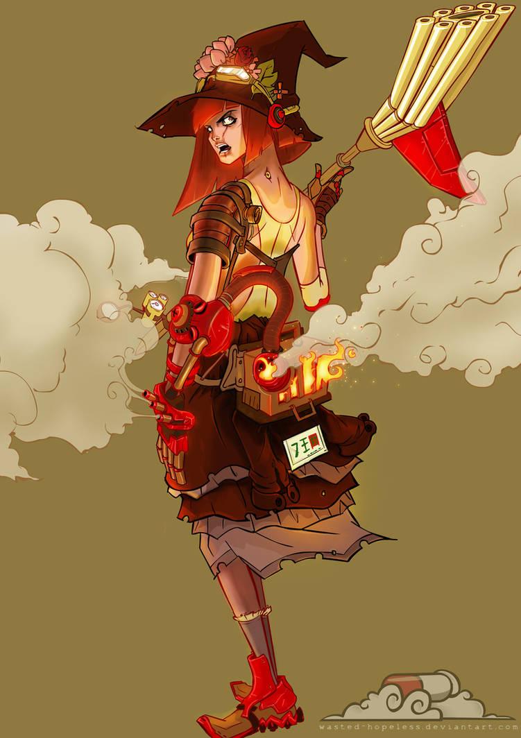 steam witch