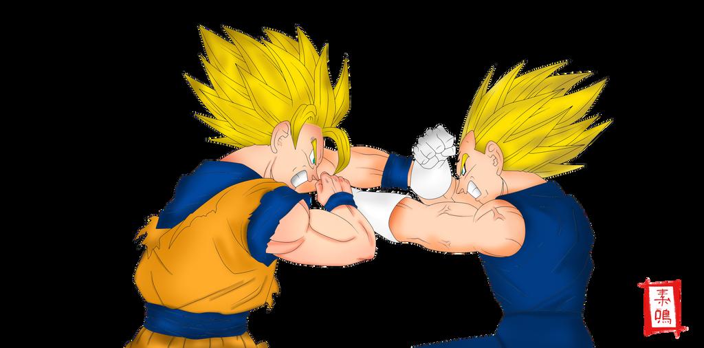 Imagenes De Goku Y Vegeta