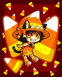 Candycorn-chan by celesse