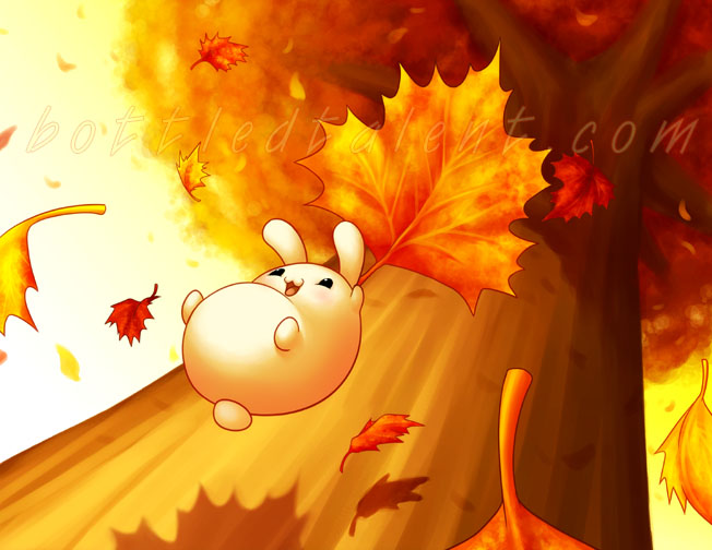 Falling Leaves by celesse