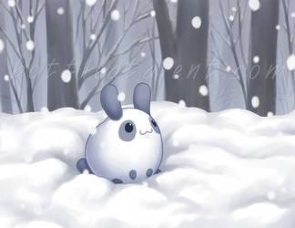 Snow Bunny by celesse