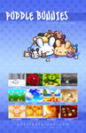 Puddle Bunnies Calendar by celesse