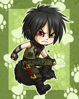 Chibi Feral by celesse