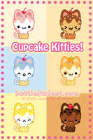 Cupcake Kitties by celesse
