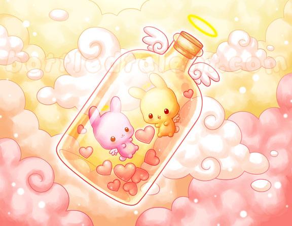 Love in a Bottle by celesse