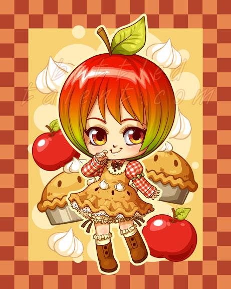 Applepie-chan by celesse