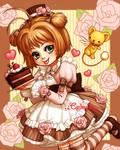 Chocolate Cake Sakura