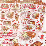 Neapolitan Sticker Set