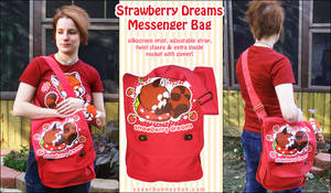 Strawberry Dreams MessengerBag by celesse