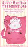 Sugar Bunnies Messenger Bag