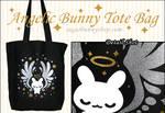 Angelic Bunny Tote Bag