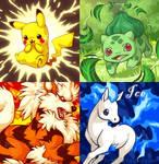 Pokemonsss by celesse