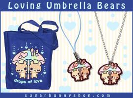 Loving Umbrella Bears by celesse