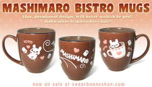 Mashimaro Bistro Mugs by celesse