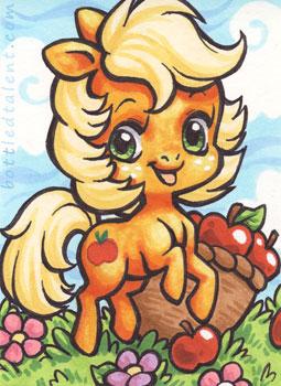 Chibi Applejack by celesse