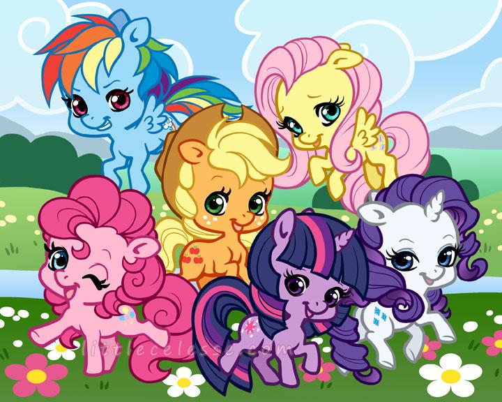 My Chibi Pony by celesse
