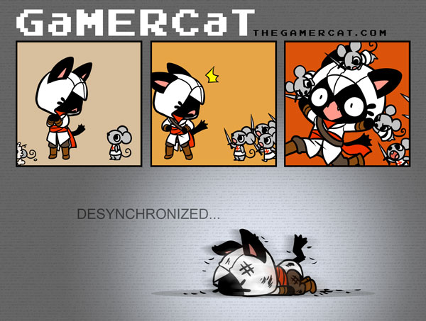 GaMERCaT - AC2 by celesse