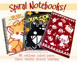 Spiral Notebooks by celesse