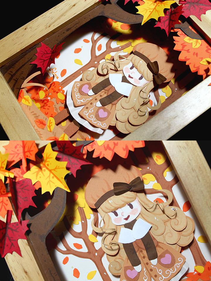 Paper Autumn Detail Shots by celesse