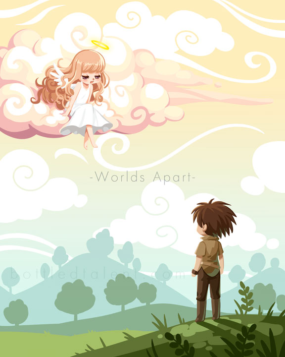Worlds Apart by celesse