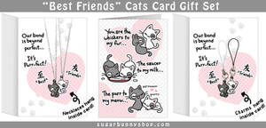 Best Friends Cats Gift Set