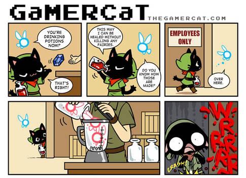 GaMERCaT - Potion Puree
