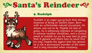 Santa's Reindeer - Rudolph