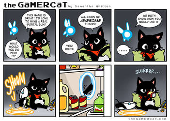 GaMERCaT - Sloth Science by celesse