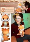 Doki Fox Plush