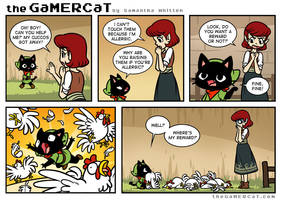the GaMERCaT - Help Wanted by celesse