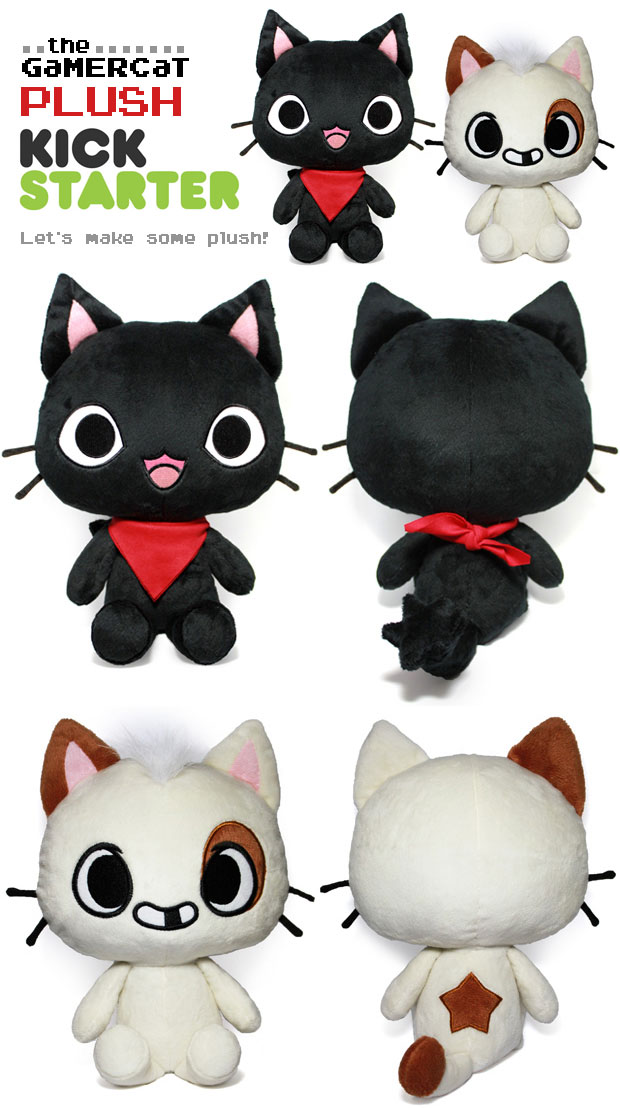 The GaMERCaT Plush by celesse