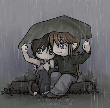 Natural umbrella by celesse