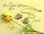 Bee-utiful Honey Bee Enamel Pin and Necklace