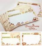Nyanpan Cat Recipe Cards