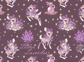 Luden the Lavendeer by celesse