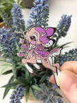Lavendeer Enamel Pin