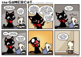 The GaMERCaT - Blasphemy by celesse