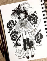 Inktober 2017 Day 2 - Divided (skirt) by celesse