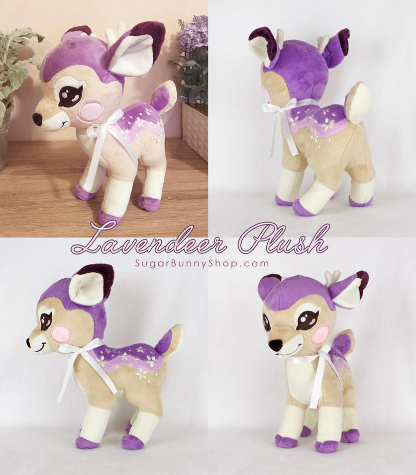 Lavendeer Plush by celesse