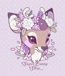 Sweet Floral Lavendeer