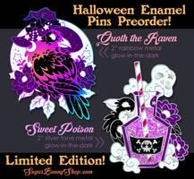 Halloween 2018 Enamel Pin Preorder by celesse