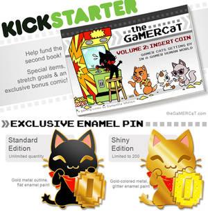 The GaMERCaT Volume 2 Book Kickstarter! (ENDING!!)