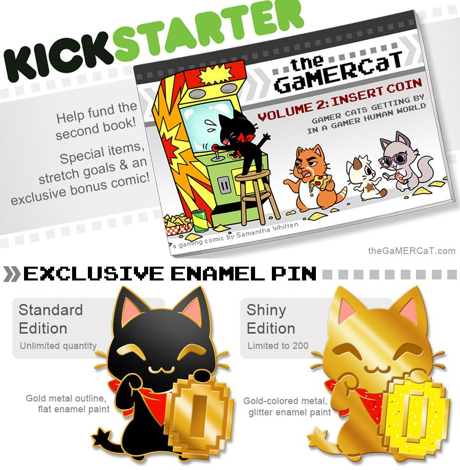 The GaMERCaT Volume 2 Book Kickstarter! (ENDING!!) by celesse